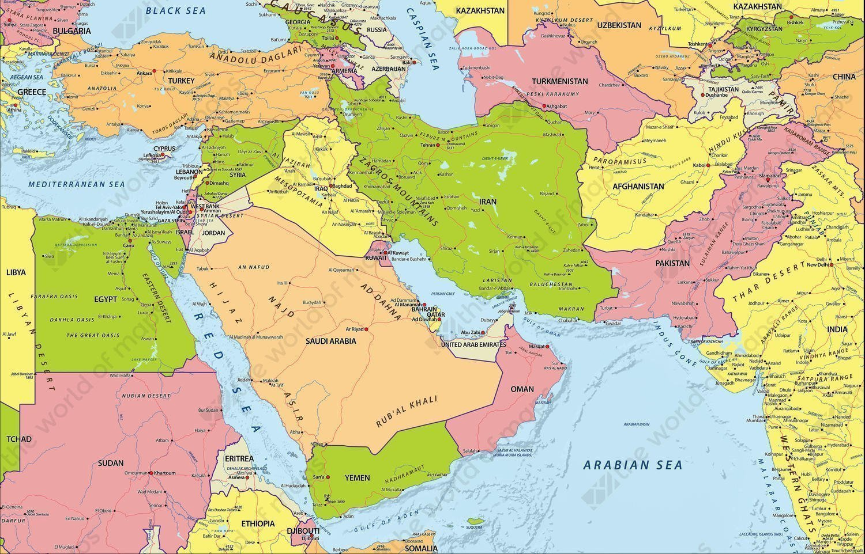 Kimine Göre 'Yakın' Kimine Göre 'Orta' Doğu