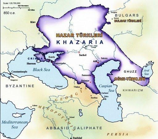 Hazar Türklerine Ait Tarihte İlkler